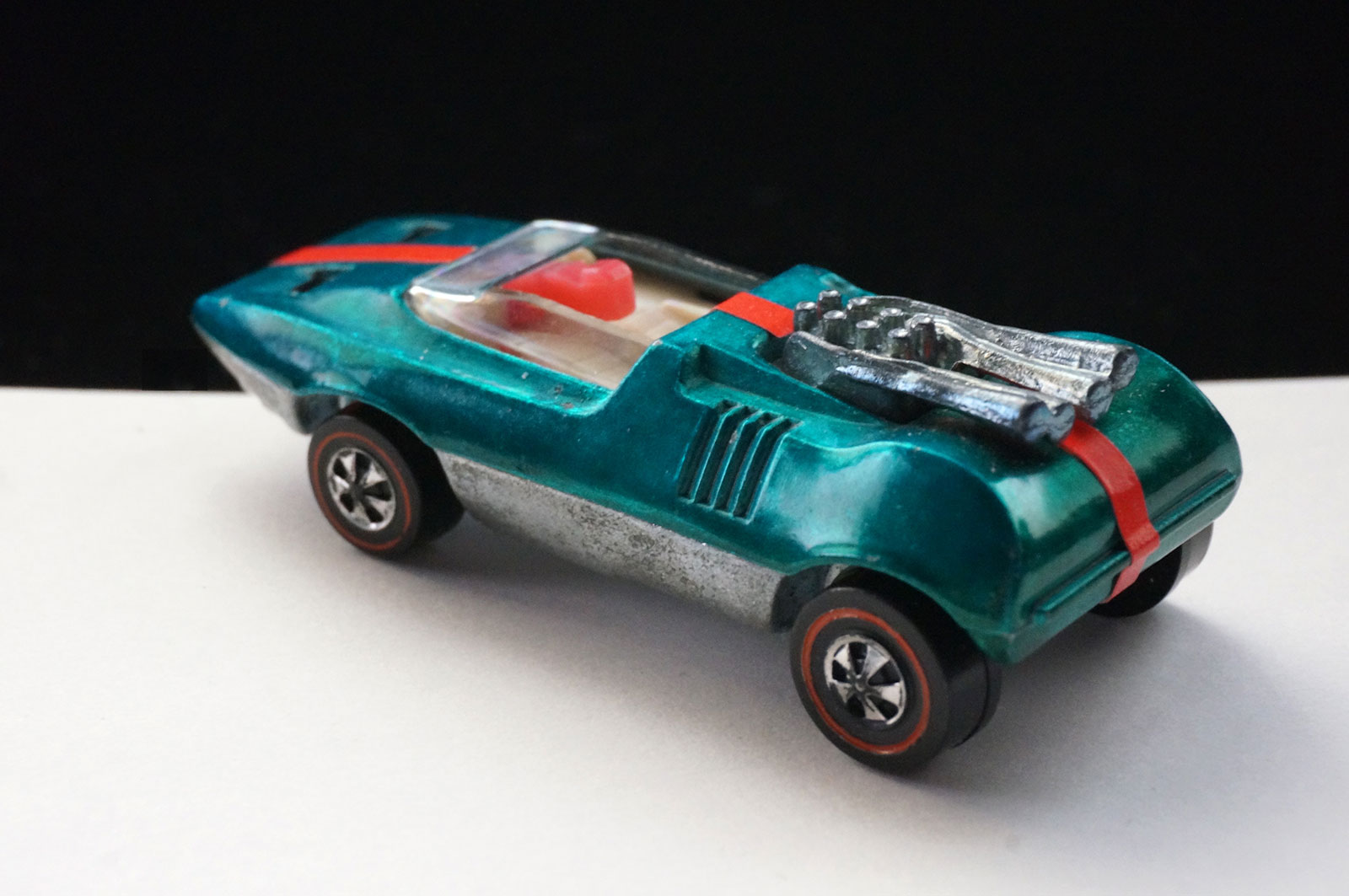 Hot Wheels Redline Aqua Peeping Bomb Prototype