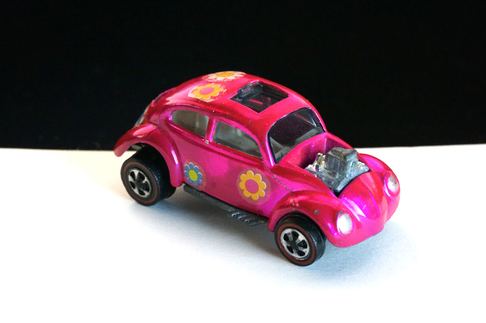 Hot Wheels Redline Hot Pink Custom Volkswagen US Flower Power