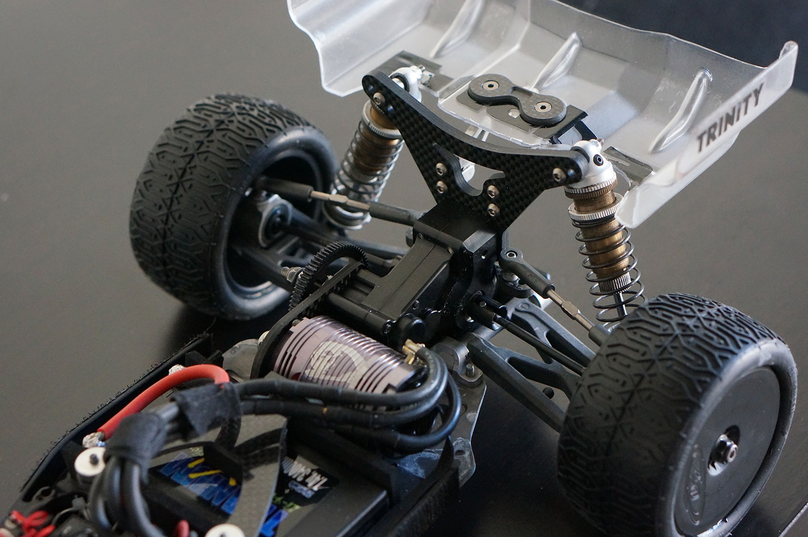 Team Associated B5M Lay Down Transmission LCG WWHD
