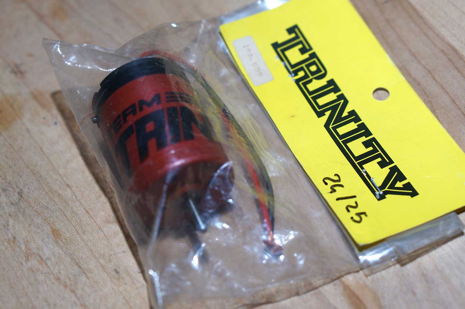Early Production Trinity RC Motor Igarashi Red Can