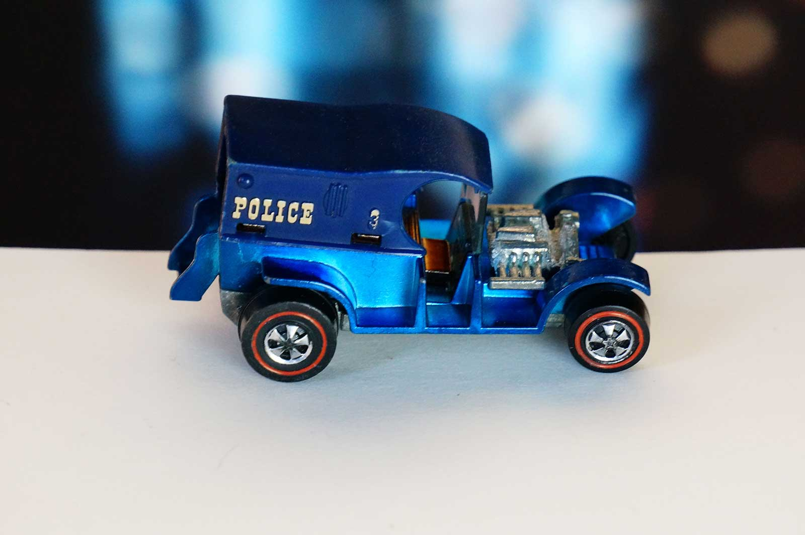 Hot Wheels Redline Paddy Wagon Prototype