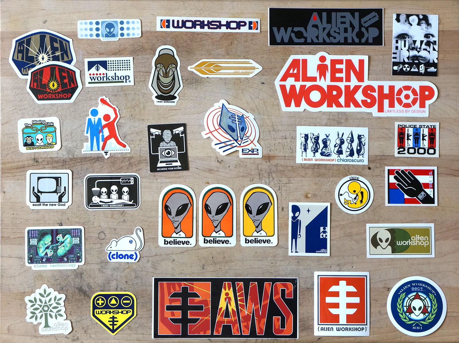 Alien Worksop Set 3