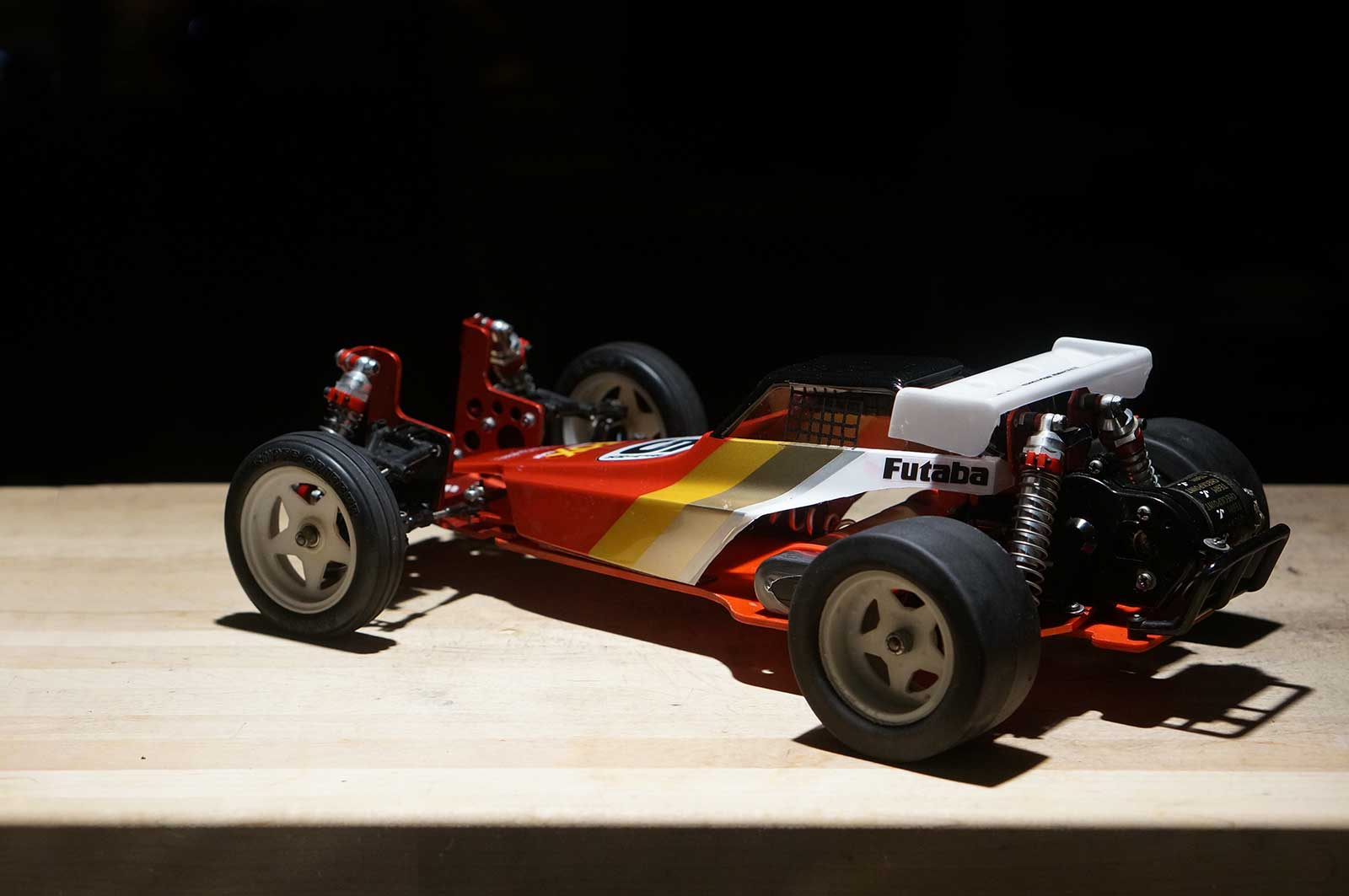 Tamiya Hot Trick Red Fox