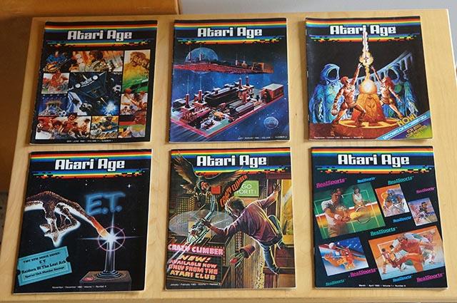 Atari Age Magazine, Volume 1