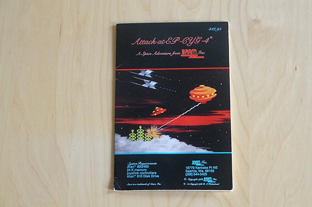 Atari 400 / 800 - Attack at EP-CYG-4