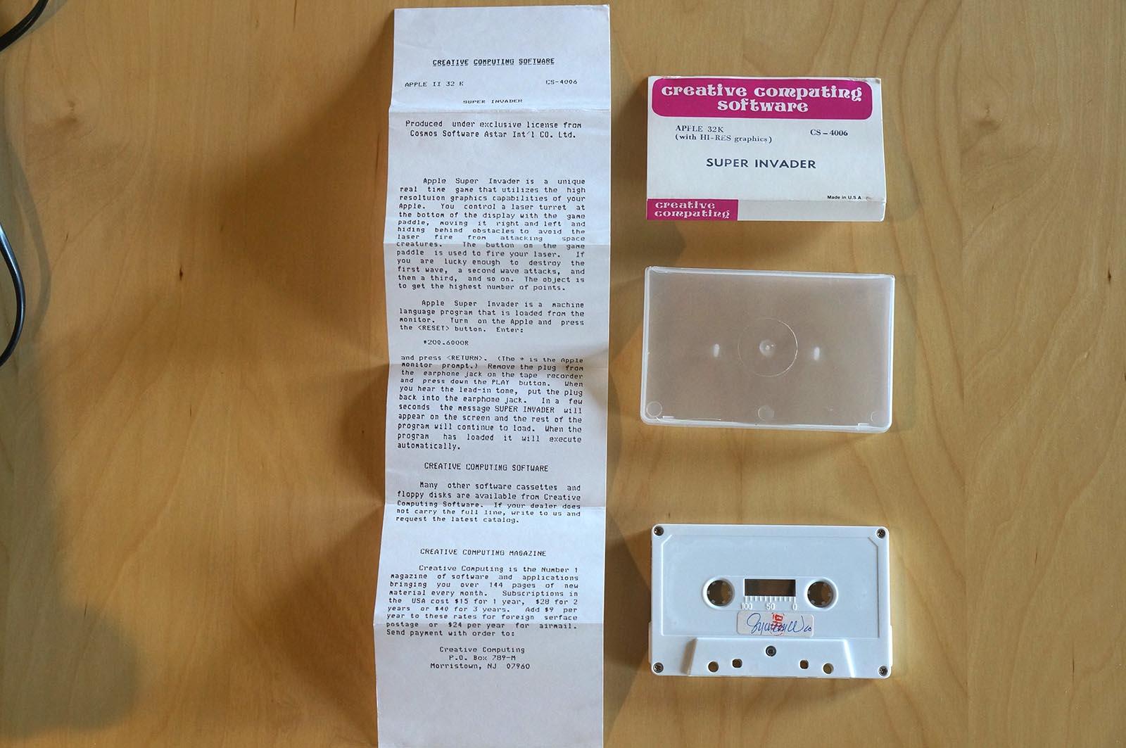 Apple II - Super Invader 1979