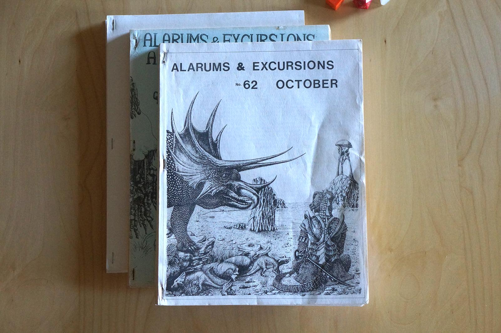 Dungeons & Dragons - Alarums and Excursions