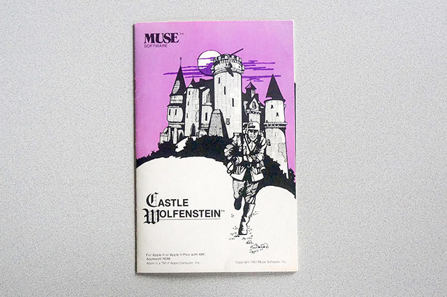 Castle Wolfenstein - Apple II