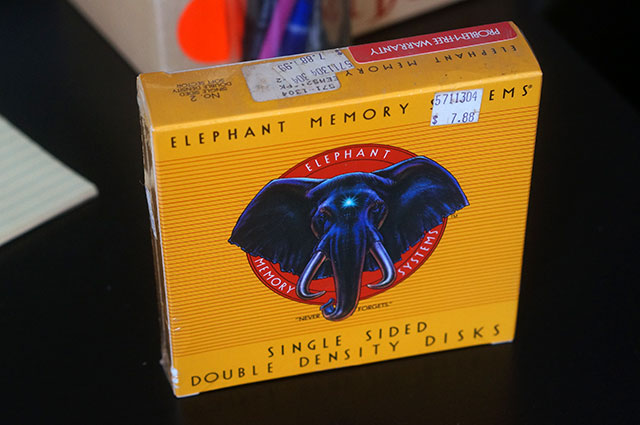 Elephant Memory Systems - 5 1/4 Floppy Diskettes