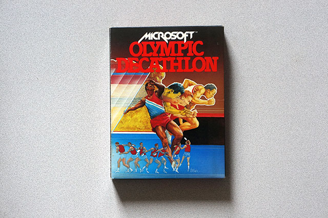 Apple II - Microsoft Olympic Decathlon