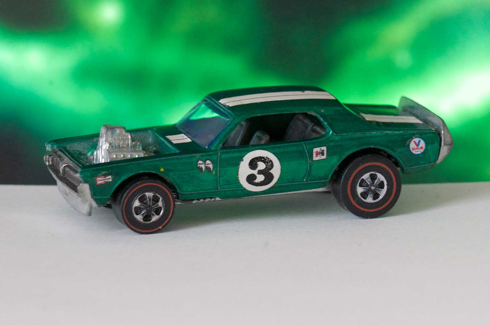 Hot Wheels Redline Green Nitty Gritty Kitty