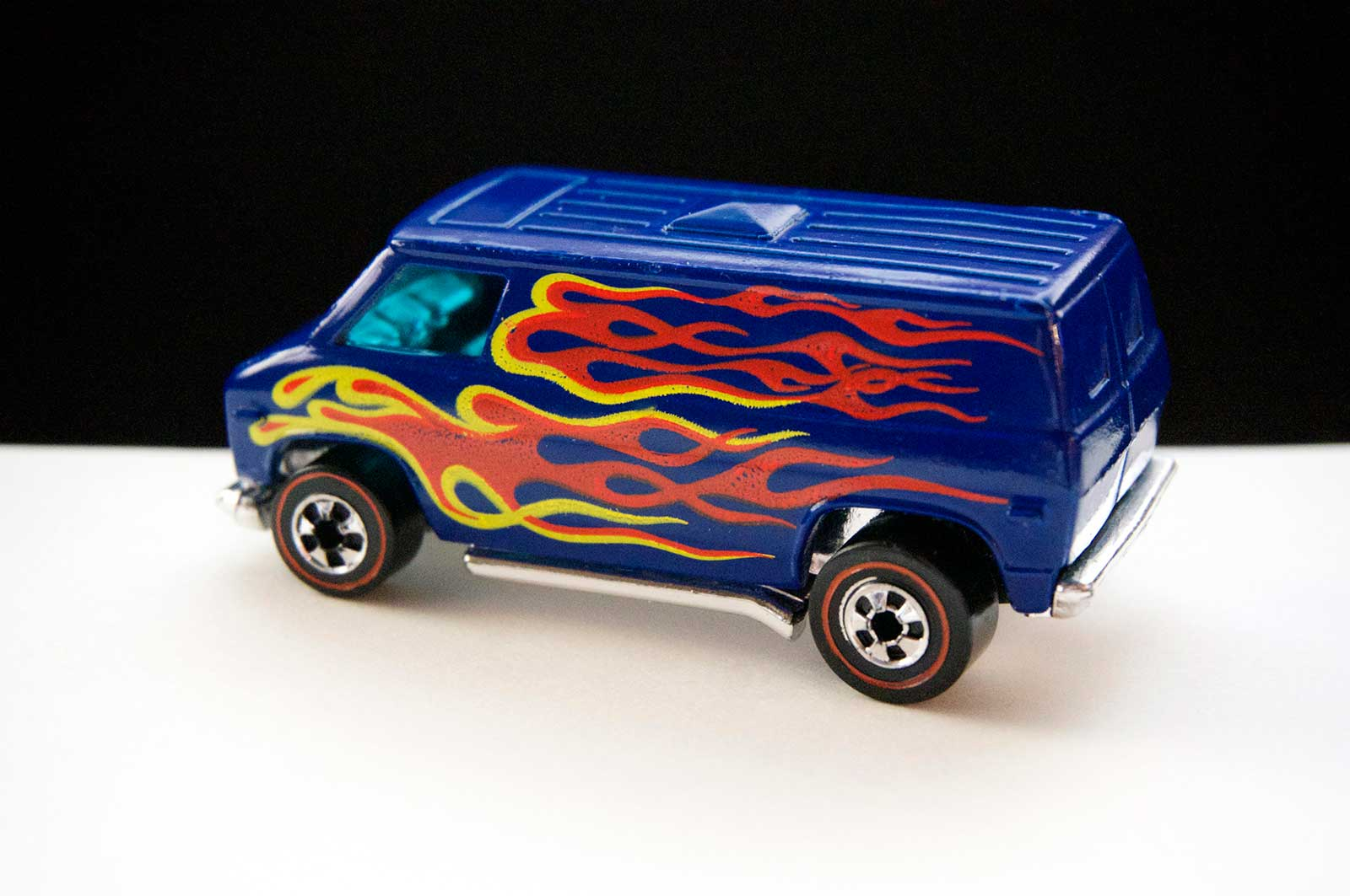 Hot Wheels Redline Blue Super Van