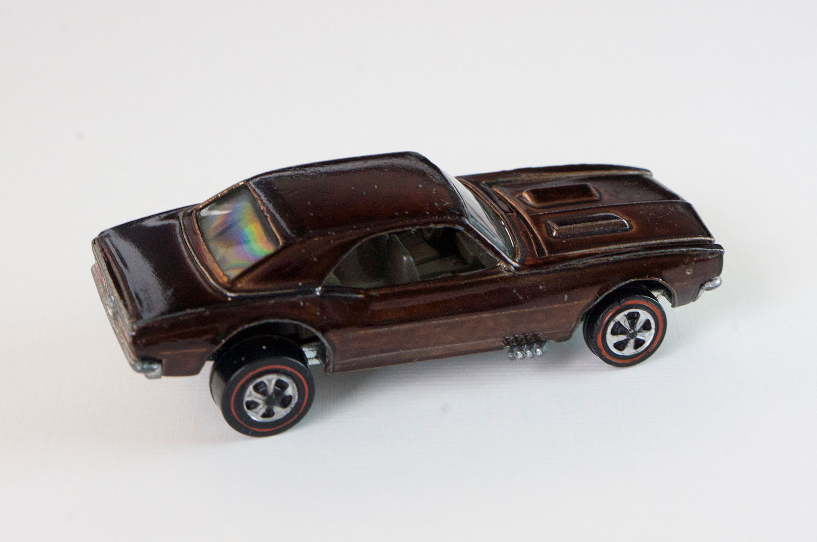 Hot Wheels Redline Brown Custom Camaro US