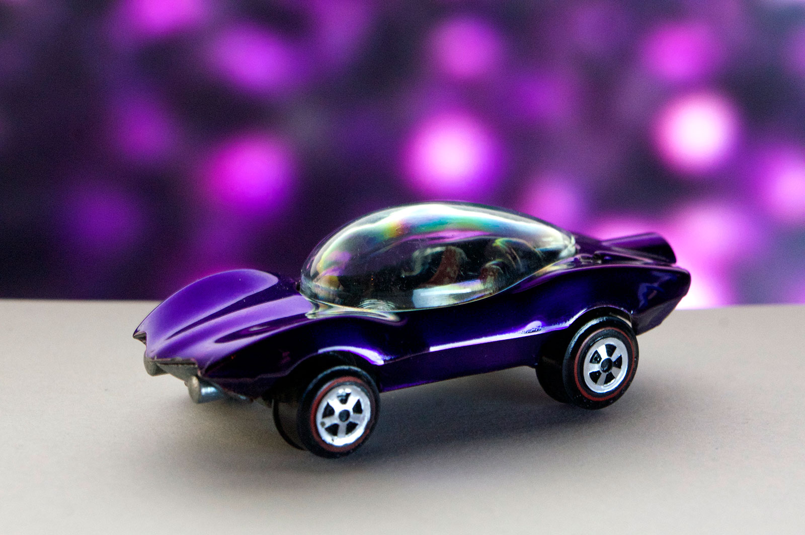 Purple Johnny Lightning Custom Turbine Painted Seats