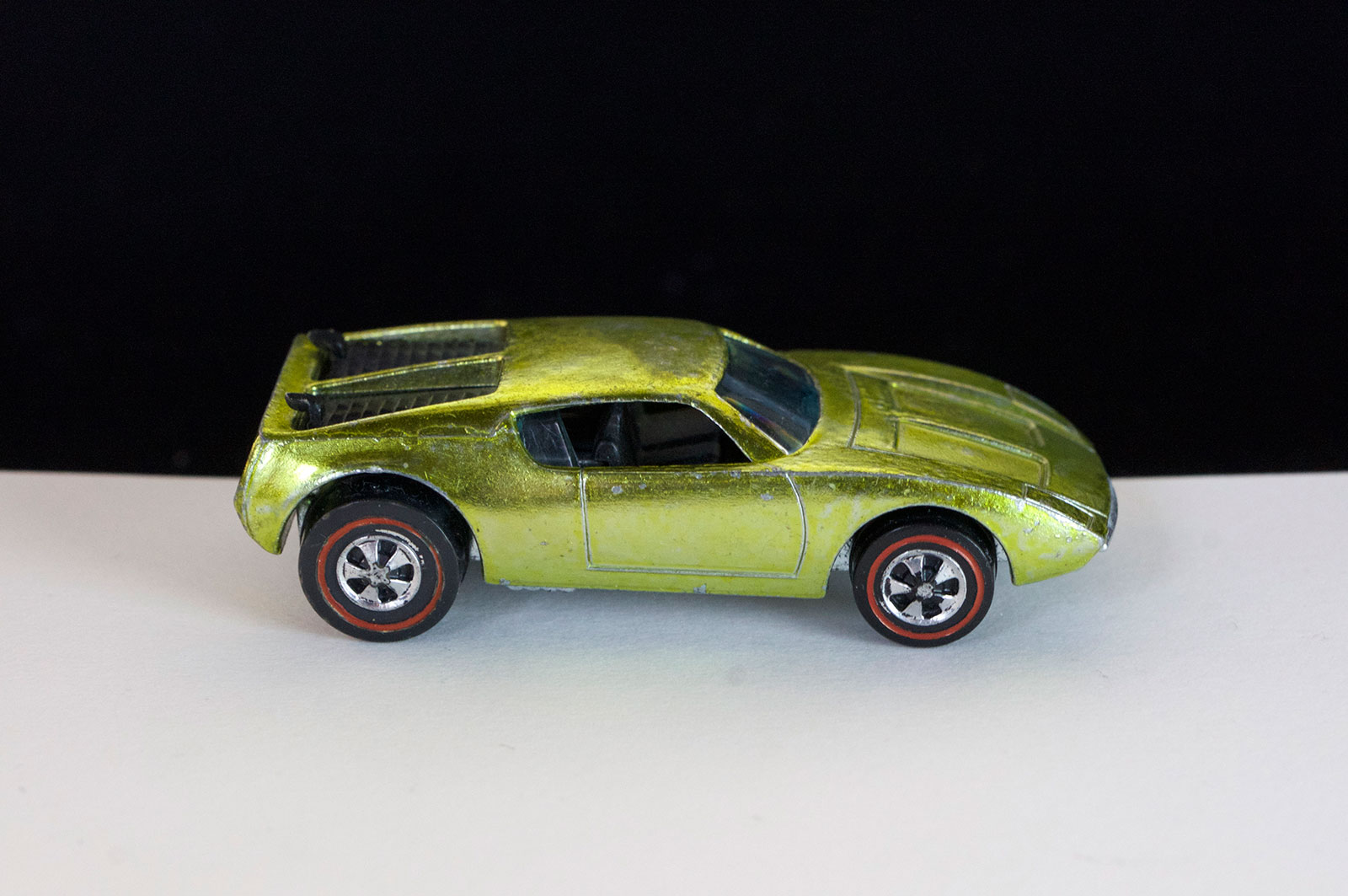Hot Wheels Redline Lime Yellow AMX 2