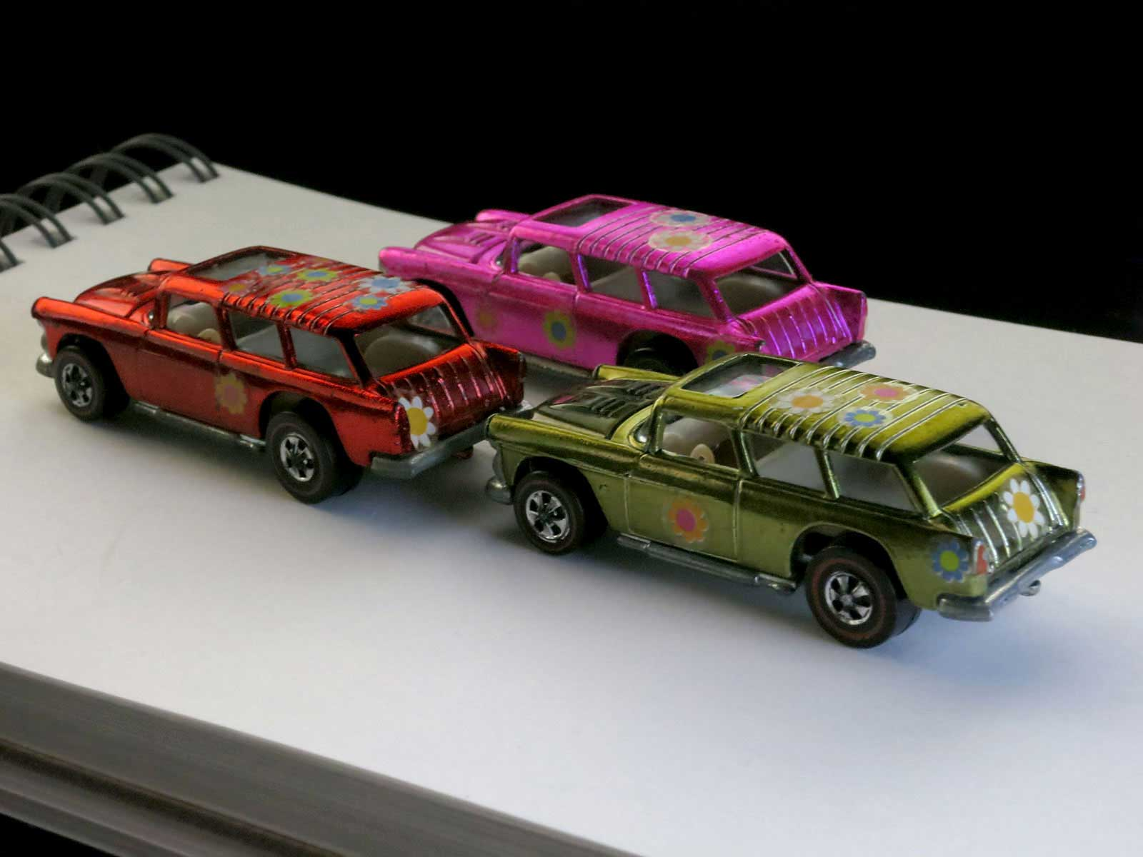 Hot Wheels Redline Red Classic Nomad