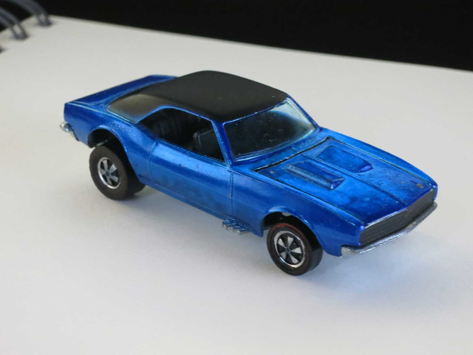 Hot Wheels Redline Blue Custom Camaro HK Prototype