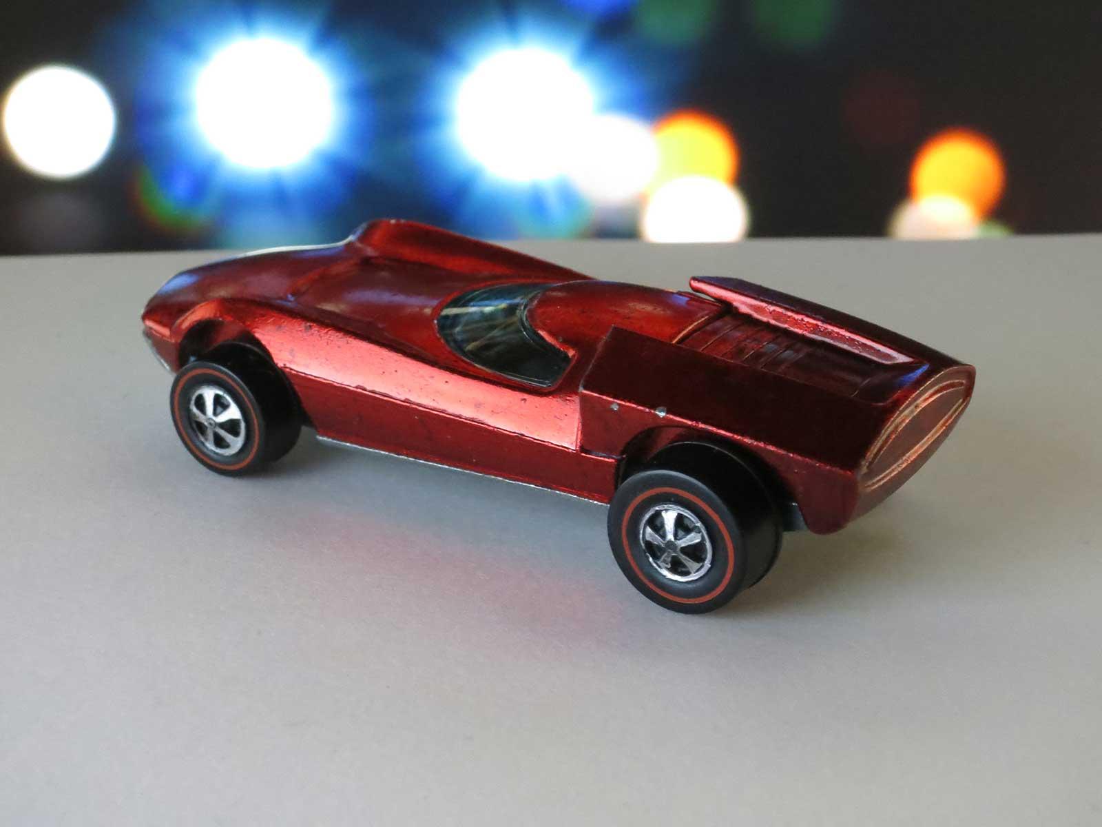 Hot Wheels Redline Red Turbofire Dark Interior