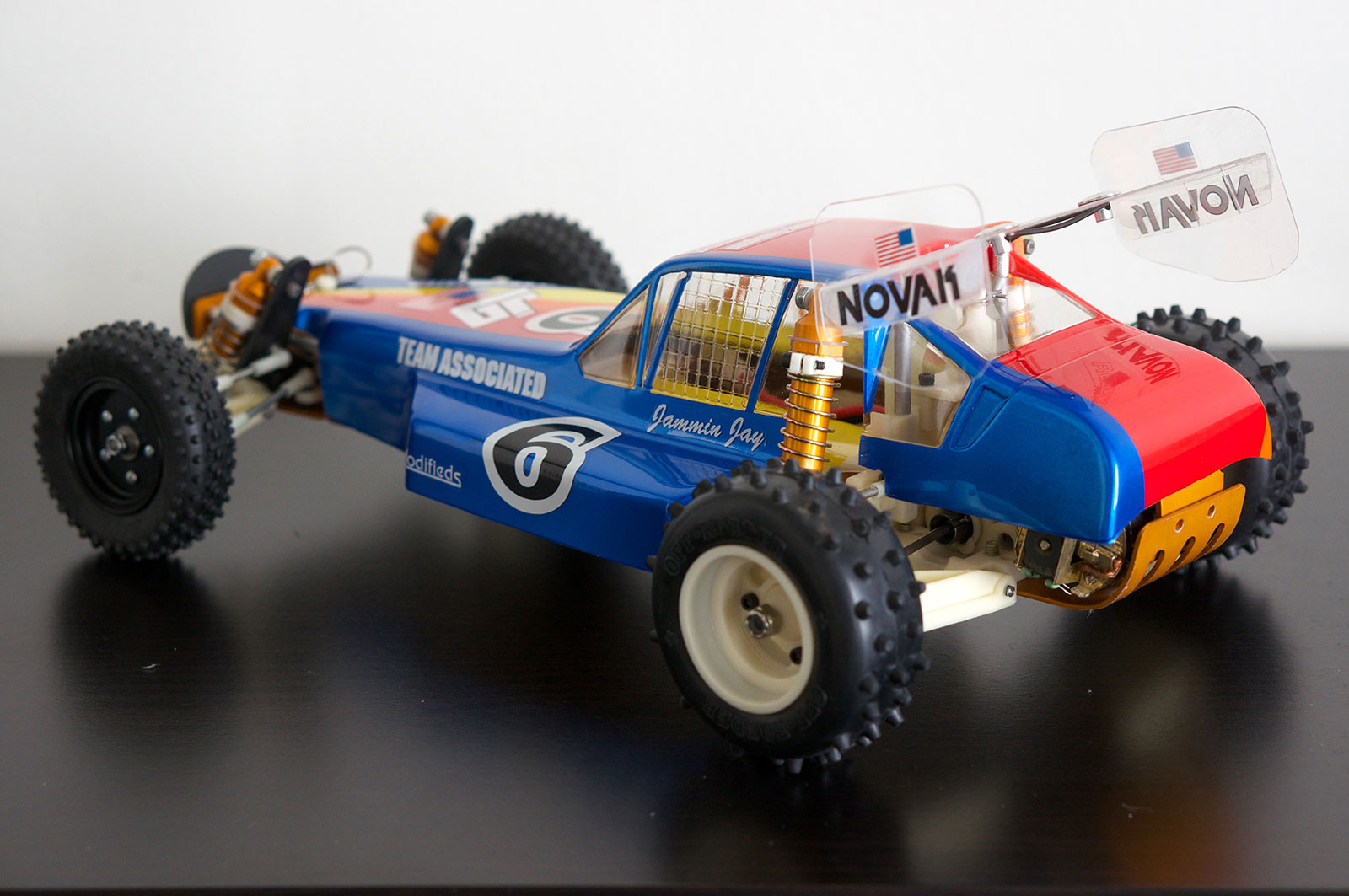 Jammin Jay Halsey RC10 Replica 1985 Worlds