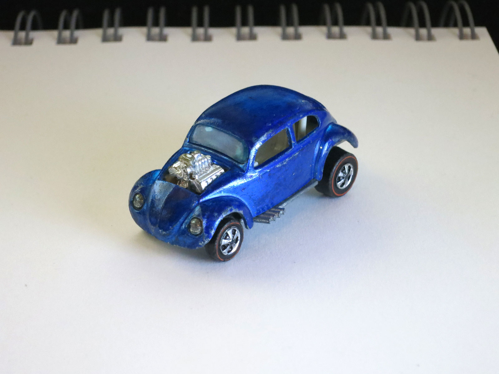 Hot Wheels Redline Rare Blue Custom Volkswagen HK No Sun Roof